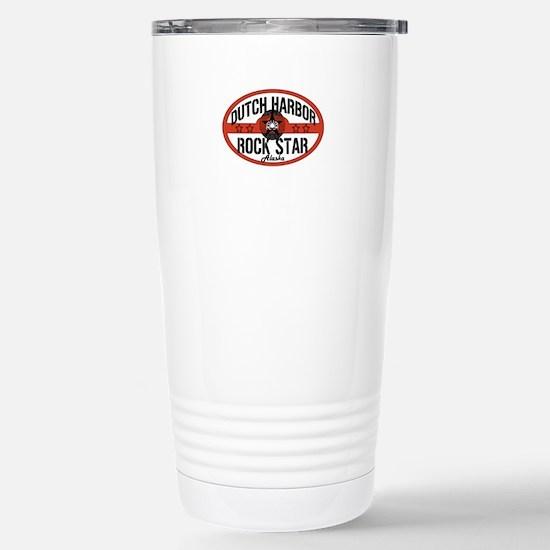 Dutch Harbor Rock Star Stainless Steel Travel Mug
