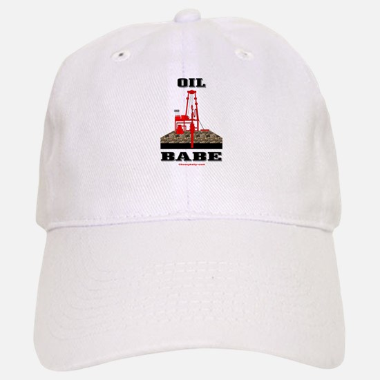 Oil Babe Baseball Baseball Cap