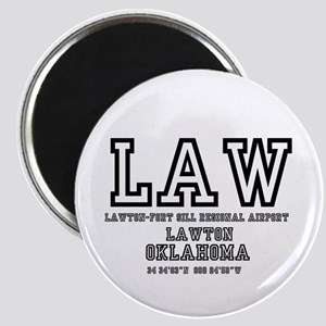 AIRPORT CODES - LAW - LAWTON FORT Magnets