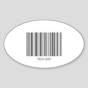 Tech God Sticker