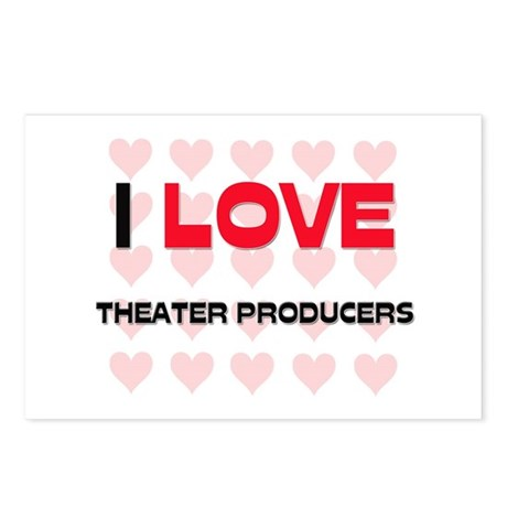 I LOVE THEATER PRODUCERS Postcards (Package of 8)