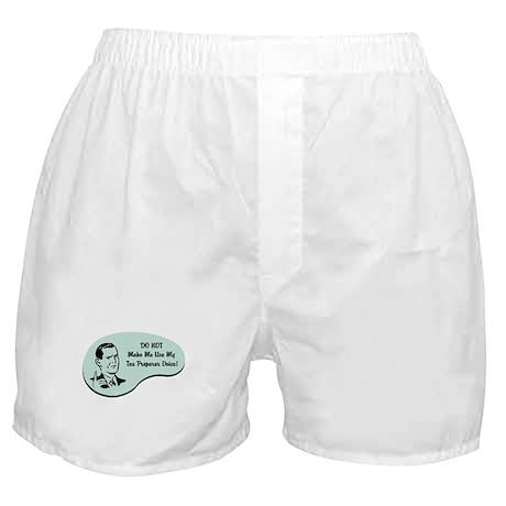 Tax Preparer Voice Boxer Shorts