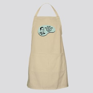 Tae Kwan Do Practitioner Voice BBQ Apron