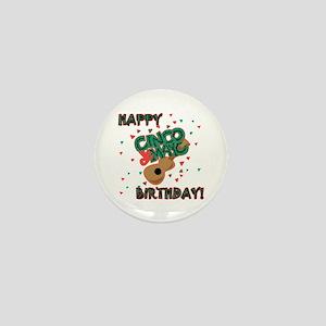 Happy Cinco de Mayo Birthday Mini Button