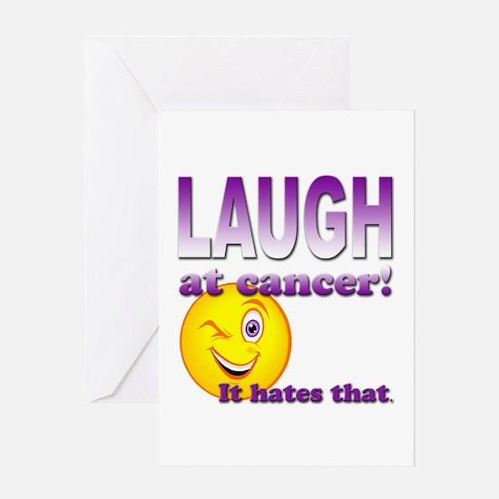 Laugh at Cancer Greeting Card