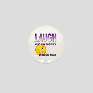 Laugh at Cancer Mini Button