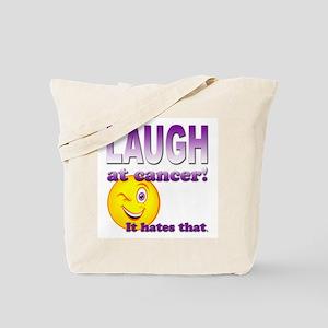 Laugh at Cancer Tote Bag