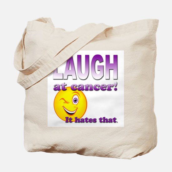 Laugh at Cancer Tote Bag
