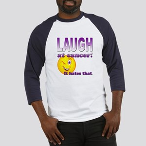 Laugh at Cancer Baseball Jersey