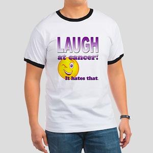 Laugh at Cancer Ringer T