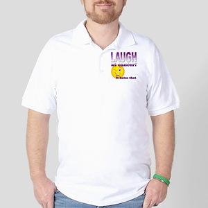 Laugh at Cancer Golf Shirt
