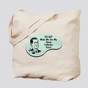 Stamp Collector Voice Tote Bag