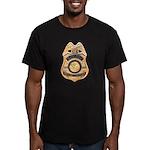 Refuge Officer Men's Fitted T-Shirt (dark)