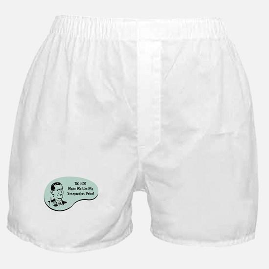 Sonographer Voice Boxer Shorts