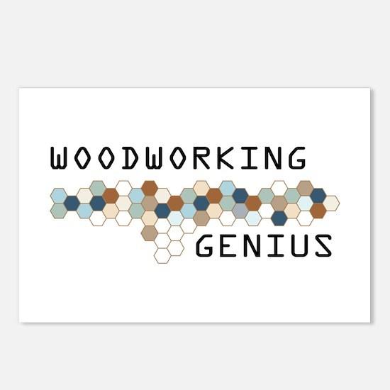 Woodworking Genius Postcards (Package of 8)