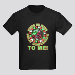 Feliz Cumpleanos 5 May to Me Kids Dark T-Shirt