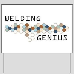 Welding Genius Yard Sign