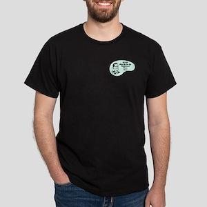 Shuffleboard Player Voice Dark T-Shirt