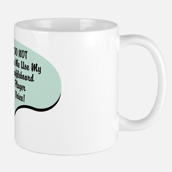 Shuffleboard Player Voice Mug