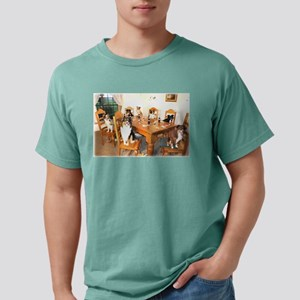 Aussies Playin' Poker Ash Grey T-Shirt
