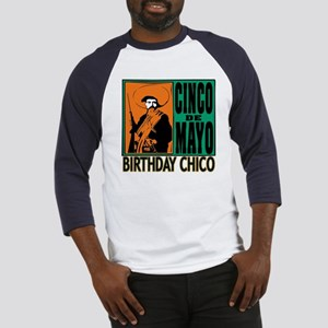 Cinco de Mayo Birthday Chico Baseball Jersey