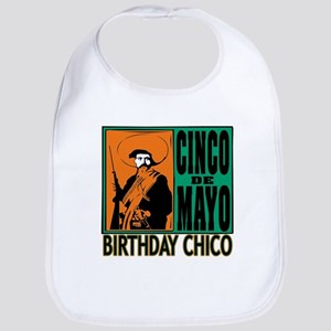 Cinco de Mayo Birthday Chico Bib