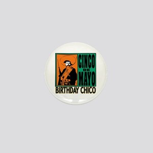 Cinco de Mayo Birthday Chico Mini Button