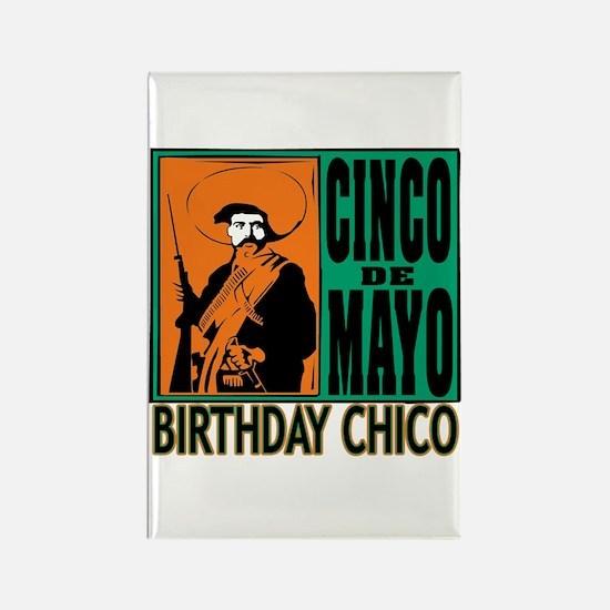Cinco de Mayo Birthday Chico Rectangle Magnet