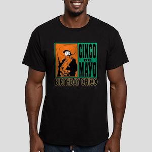 Cinco de Mayo Birthday Men's Fitted T-Shirt (dark)