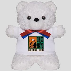 Cinco de Mayo Birthday Chico Teddy Bear