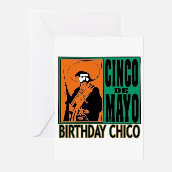 Cinco de Mayo Birthday C Greeting Cards (Pk of 10)