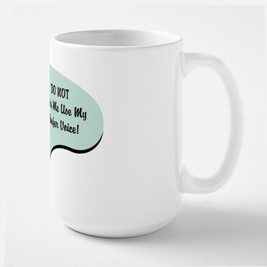 Roofer Voice Large Mug
