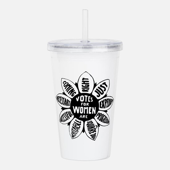 Votes For Women Histor Acrylic Double-wall Tumbler