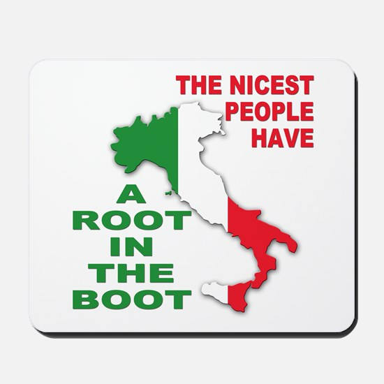 italian pride Mousepad