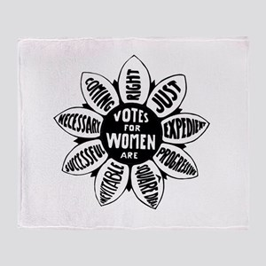 Votes For Women Historical design Throw Blanket