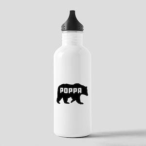Poppa Bear Stainless Water Bottle 1.0L