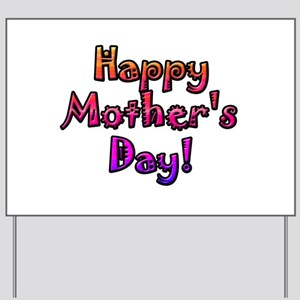 Mother's Day Yard Sign