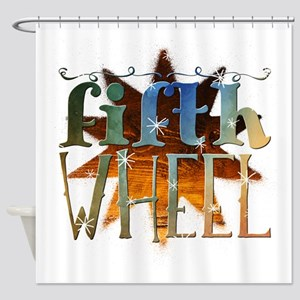 fifth wheel Shower Curtain