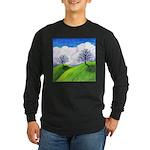 California Spring Long Sleeve Dark T-Shirt
