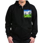California Spring Zip Hoodie (dark)