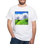 California Spring White T-Shirt