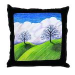 California Spring Throw Pillow