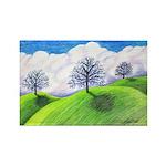 California Spring Rectangle Magnet (100 pack)