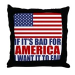 I want it to fail Throw Pillow