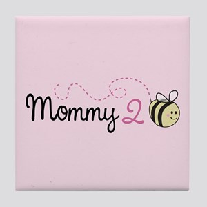 Mommy To Bee Tile Coaster