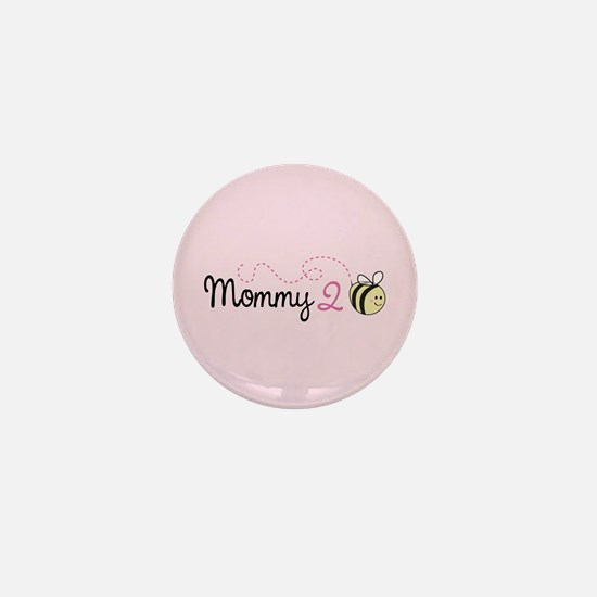 Mommy To Bee Mini Button