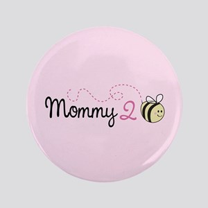 "Mommy To Bee 3.5"" Button"