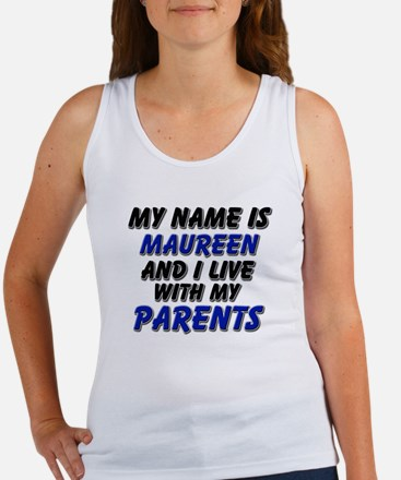 my name is maureen and I live with my parents Wome