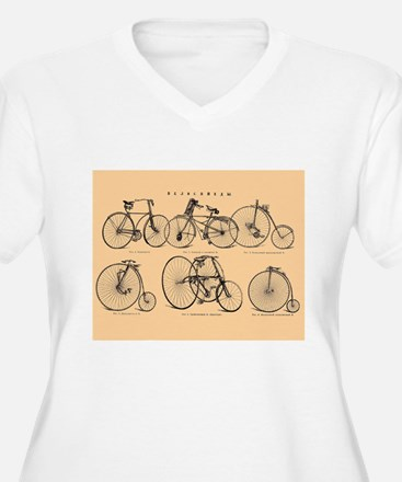 19th C. bicycles T-Shirt