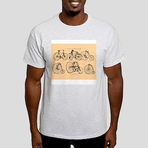 19th-century bicycles Light T-Shirt